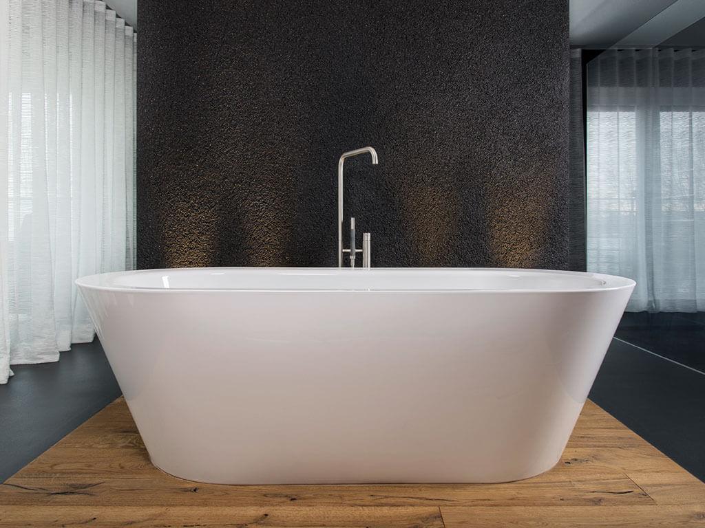 freistehende holz badewanne hinoki holzkollektion stunning